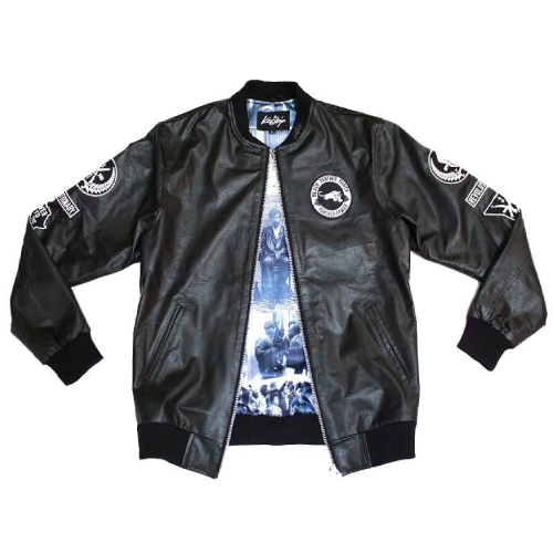 Justice League Black Panther Leather Jacket