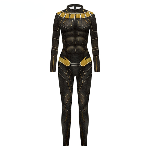 Black Panther Cosplay Costume For Men's