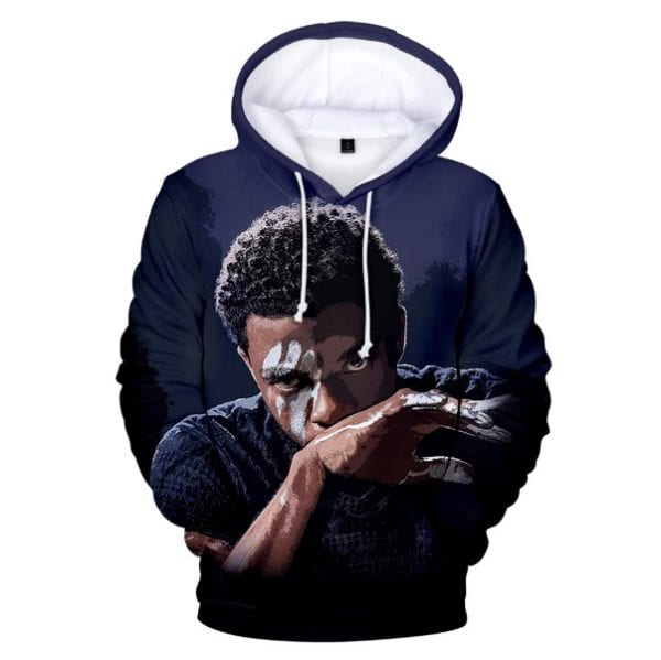 Famous Actors Chadwick Boseman 3D Printed Hoodie Men Women Sweatshirt Fens