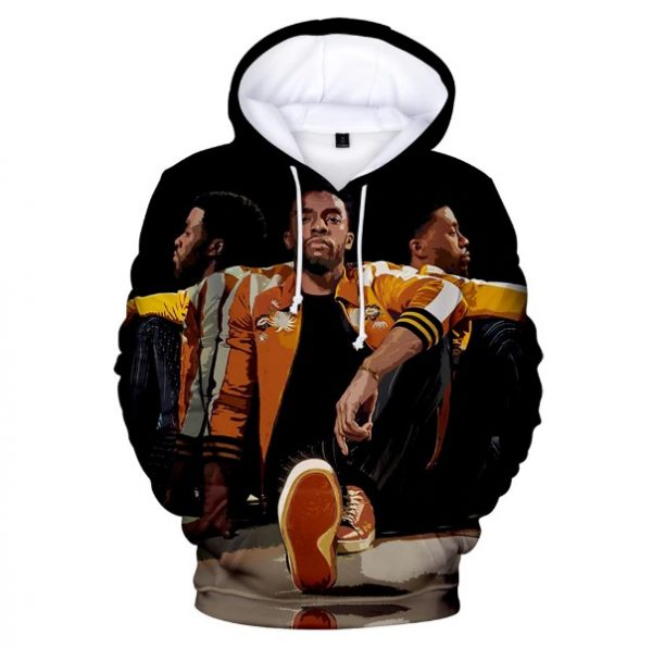 Famous Actors Chadwick Boseman 3D Printed Hoodie Men Women Sweatshirt Fans